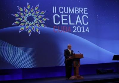 Discurso del Presidente Cubano Raúl Castro en la inauguración de la ll Cumbre de la CELAC